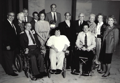 National Council Members and Senator Lowell Weicker