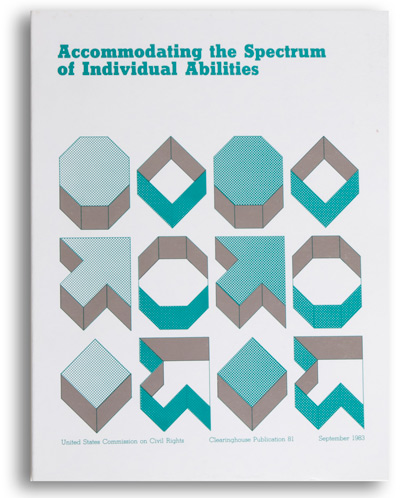 Accommodating the Spectrum of Individual Disabilities book cover
