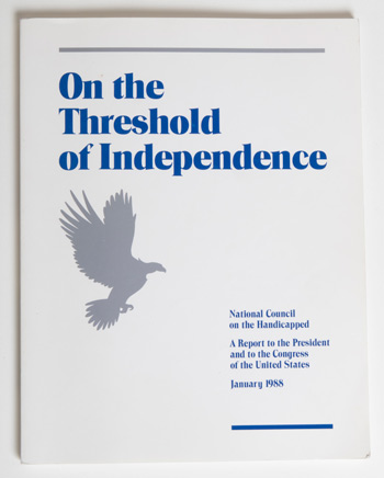cover of On the Threshold of Independence